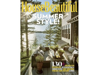 92% off House Beautiful Magazine - 1 Year Subscription