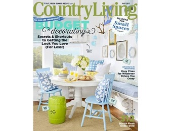 92% off Country Living Magazine - 1 Year Subscription