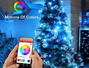 50% off Playbulb 33' App Enabled Multi-Colored Light String