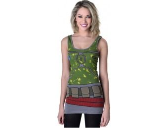 80% off Womens Star Wars Boba Fett Tunic Tank