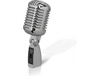 65% off PYLE PDMICR68SL Dynamic Microphone