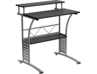 73% off Clifton Black Computer Desk