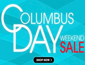 Columbus Day Weekend Sale - Save on jewelry, electronics, & more!