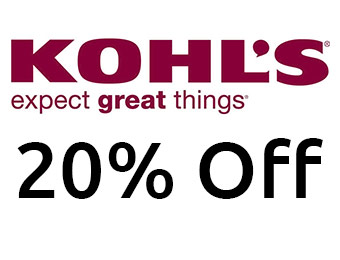 20% off Everything Site-Wide at Kohls.com