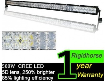 "$436 off Rigidhorse 500W 50000lm 52"" 5D LED Light Bar"