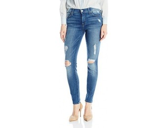 $123 off 7 For All Mankind Women's Ankle Skinny Jeans