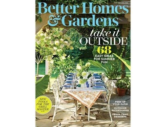 92% off Better Homes and Gardens Magazine - Kindle Edition