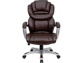 $355 off Flash Furniture High Back Leather Executive Office Chair