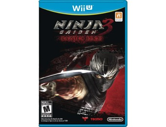 $53 off Ninja Gaiden 3: Razor's Edge - Nintendo Wii U Video Game