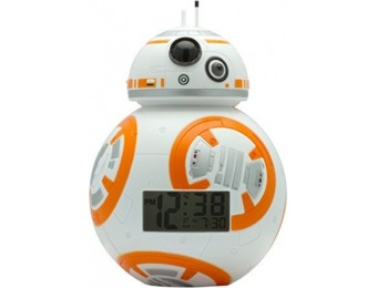 45% off Star Wars BB-8 Light Up Alarm Clock