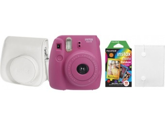 $25 off Fujifilm instax mini 8 Instant Film Camera Bundle