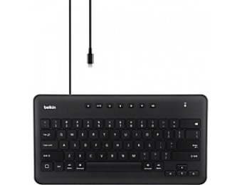 70% off Belkin Secure Wired Keyboard for iPad w/ Lightning