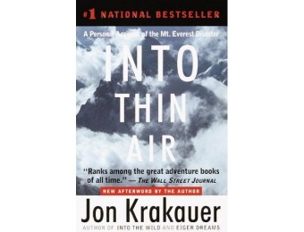 59% off Into Thin Air: A Personal Account of the Mt. Everest Disaster