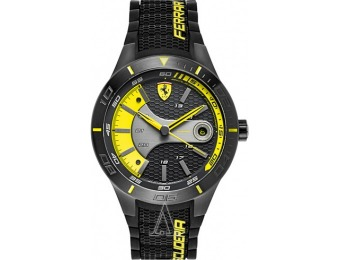 50% off Ferrari Men's Red Rev Watch