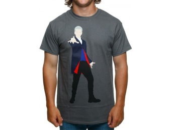 65% off Doctor Who 12th Doctor Vector T-Shirt