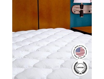 $78 off Extra Plush Mattress Topper Found in Five Star Hotels, King