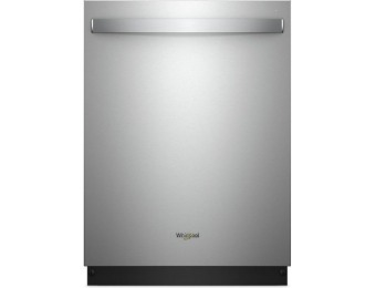 29% off Whirlpool 47-Decibel Built-in Fingerprint Resistant Stainless Steel Dishwasher