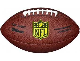73% off Wilson NFL Pro Replica Game Football (Official Size)