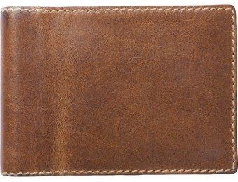 $75 off Nomad Leather 2400 mAh Charging Wallet Battery
