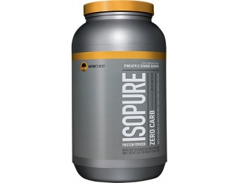 54% off Natures Best Isopure Zero Carb Protein