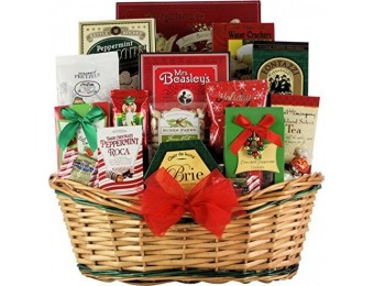 80% off Tidings of Joy: Large Gourmet Gift Basket, 7 Pound