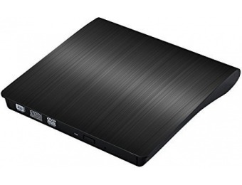 51% off KrBn USB 3.0 Ultra Portable External CD DVD Writer Drive