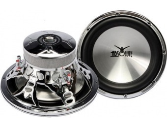 "$101 off Absolute VI 2000.6 12"" 2000-Watt 6-Ohm Subwoofer"