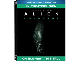 50% off Alien: Covenant (BD + DVD + DHD) Blu-ray, Pre-Order