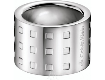 72% off Calvin Klein Jewelry Women's Grid Ring