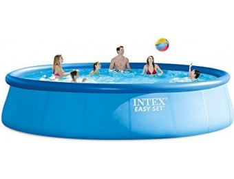 $238 off Intex 18ft X 48in Easy Set Pool Set w/ Filter Pump, Ladder...