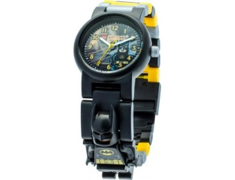 70% off LEGO DC Comics Super Heroes Analog Batman Wristwatch