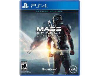 83% off Mass Effect: Andromeda Deluxe Edition - PlayStation 4