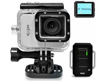$220 off Pyle PSCHD90SL eXpo Hi-Res Mini Action Video Camera
