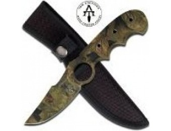 92% off Master Cutlery TA-94CA Tom Anderson Fixed Blade Knife