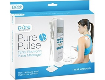 50% off PurePulse TENS Electronic Pulse Massager