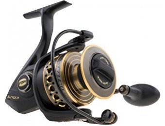 40% off Penn Battle II 1000 Spinning Fishing Reel
