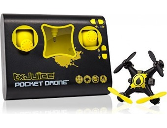 86% off TX Juice Ai Pocket Drone - Quadcopter with Patented Ai