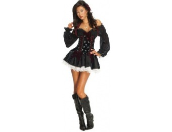91% off Secret Wishes Playboy Swashbuckler Sexy Pirate Costume