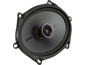 "$60 off Kicker KS 6"" x 8"" 2-Way Coaxial Car Speakers (Pair)"