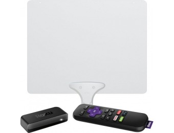 40% off Roku Express Streaming Media Player & Mohu Leaf Antenna