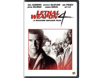 83% off Lethal Weapon 4 DVD