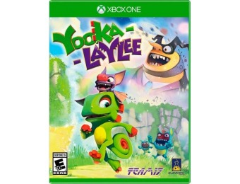 50% off Yooka-Laylee - Xbox One