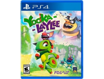 63% off Yooka-Laylee - PlayStation 4