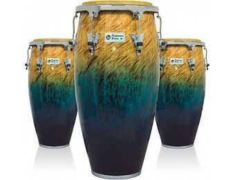62% off LP Performer Series 3-Piece Conga Set With Chrome Hardware