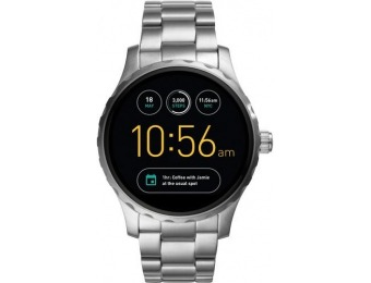 $190 off Fossil Q Marshal Gen 2 Smartwatch 45mm Stainless Steel