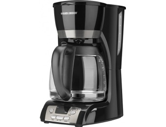 50% off Black & Decker 12-Cup Programmable Coffeemaker