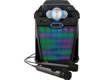 $50 off Singing Machine Vibe Hi-Def Karaoke System