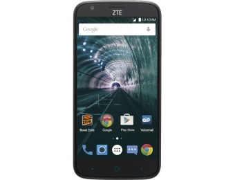 $100 off Boost Mobile ZTE Warp 7 LTE 16GB Prepaid Cell Phone