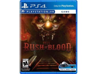 50% off Until Dawn: Rush of Blood - PlayStation 4