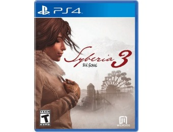 60% off Syberia 3 - PlayStation 4